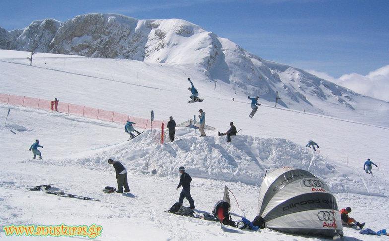Mount Parnassos - Fasol 360 Grab