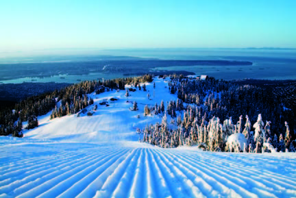 Grouse Mountain Ski Resort by: Peak  Office