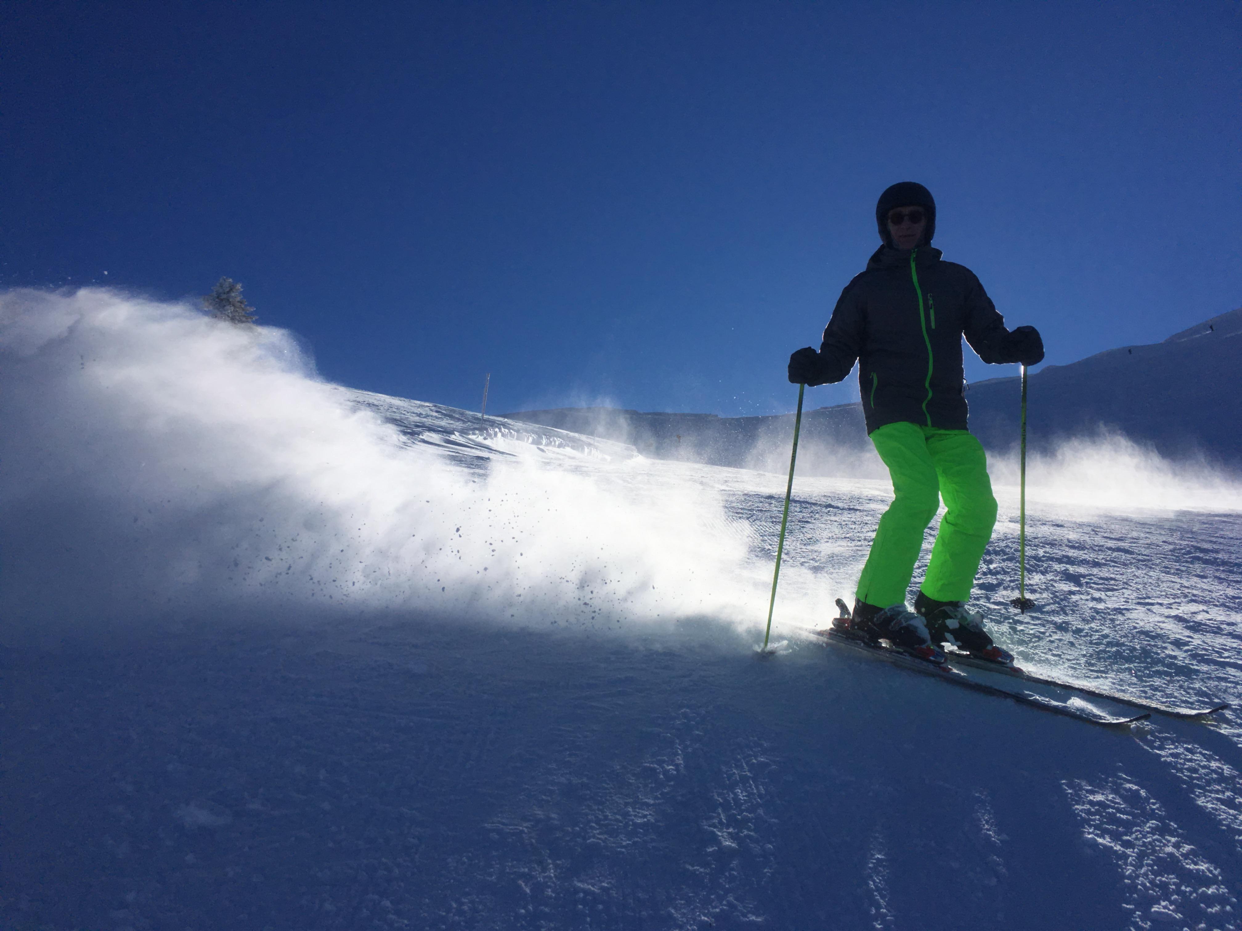 Late afternoon, Kalavryta Ski Resort