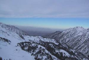 Gad Valley, Snowbird and Little Cottonwood Canyon, UT photo