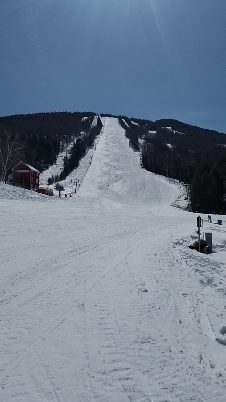 BMA race training, Burke Mountain
