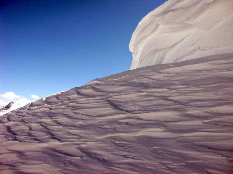 Wind-scoured, Whistler Blackcomb