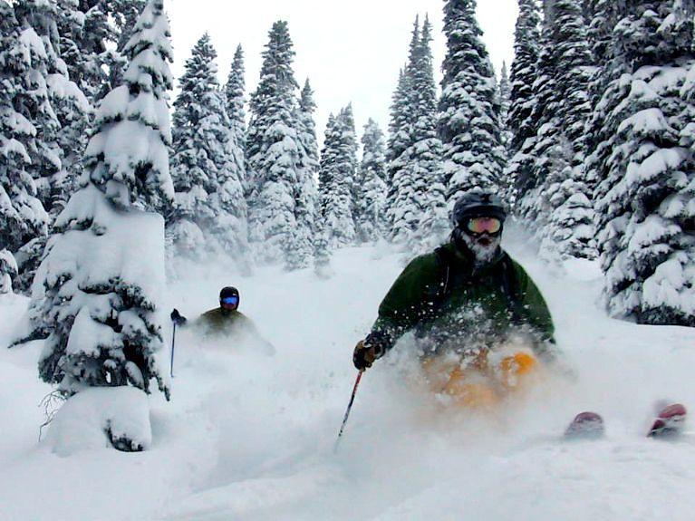 Big powder in Boundary Trees, Stevens Pass