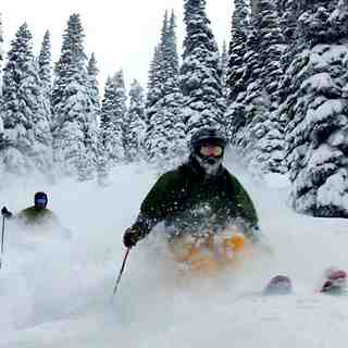 Big powder in Boundary Trees, Stevens Pass
