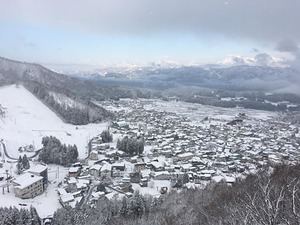 After a fairly dry March, a snowy start to April., Nozawa Onsen photo