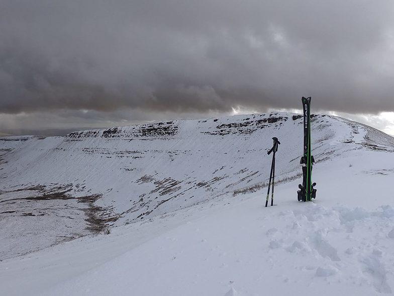 March snow in the Brecon Beacons, Pen-y-Fan