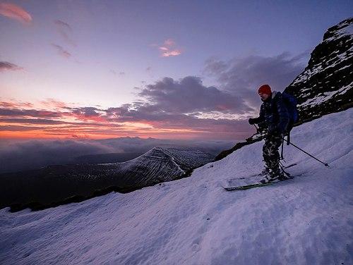 Pen-y-Fan Ski Resort by: Chris Morris