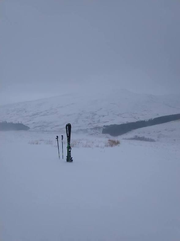 Cefn Crew slopes, Pen-y-Fan