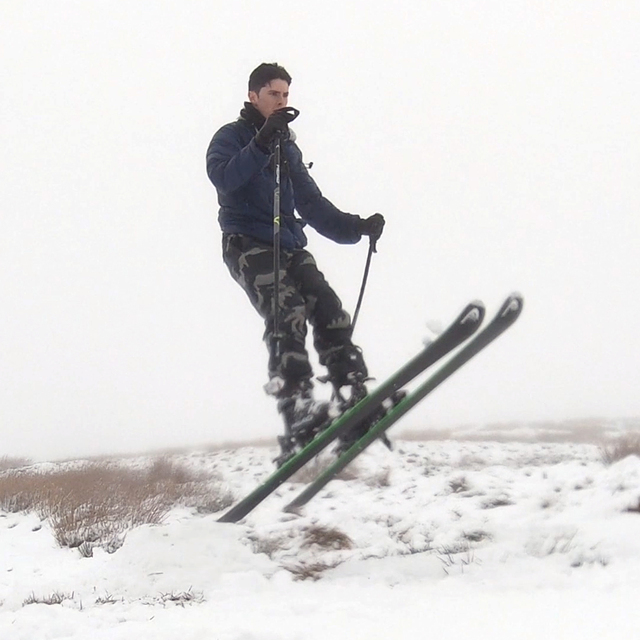 April skiing on Foel Cwmcerwyn