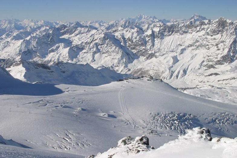 Breuil-Cervinia Valtournenche snow