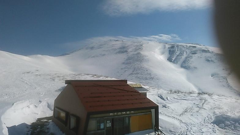 Gassan Glacier snow