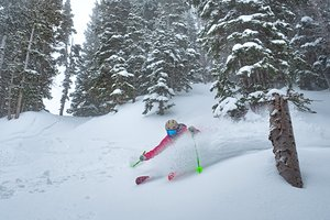 Over 1.5m (5ft) of fresh snow in the last 7 days., Alta photo