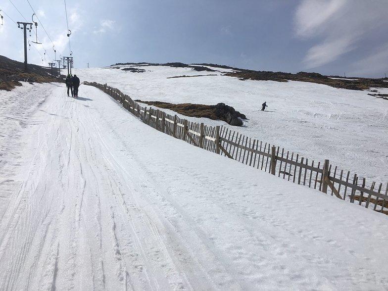 Almost the end of the 2018-19 season., Glencoe Mountain Resort