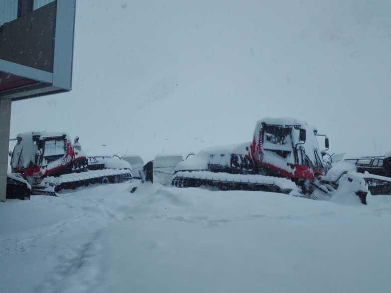 Open until the 10th June., Stubai Glacier