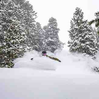 35cm in the last 48hrs, Breckenridge