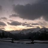 Panorama della Val di Fassa, Pozza di Fassa