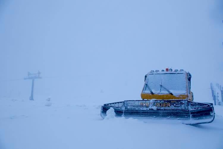 30cm across the ski areas so far., Perisher