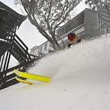 30cm across the ski areas so far., Mount Hotham