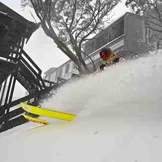 30cm across the ski areas so far., Mount Hotham