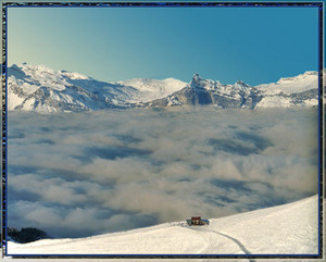 Sea of Fog, Megeve photo