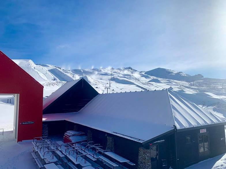 Ready for 'snow-play' (no skiing yet)., Cardrona