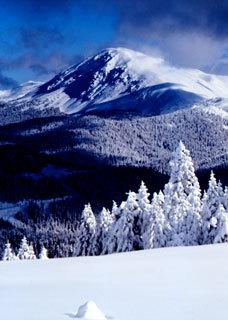 Mt Ilgaz snow