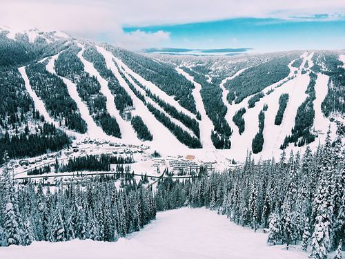 Sun Peaks Ski Resort by: Snow Forecast Admin