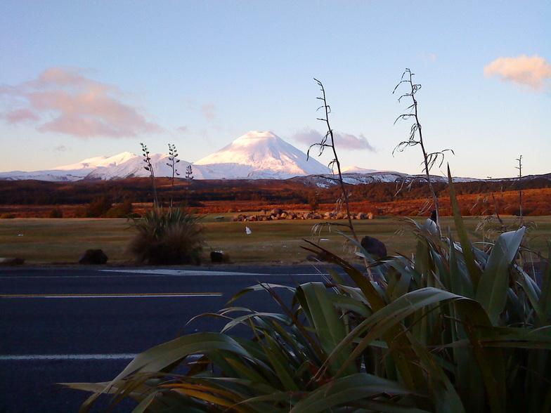 Ngauruhoe Sunset, Turoa