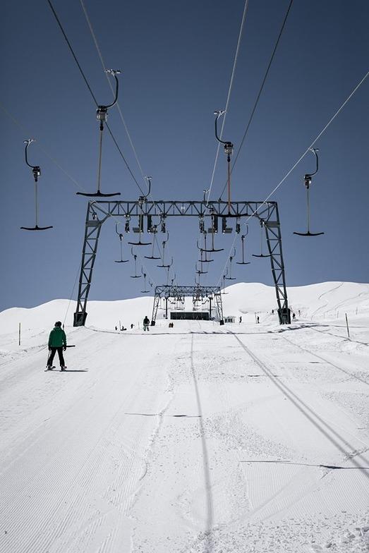 Kitzsteinhorn closed for the season at the weekend., Kaprun