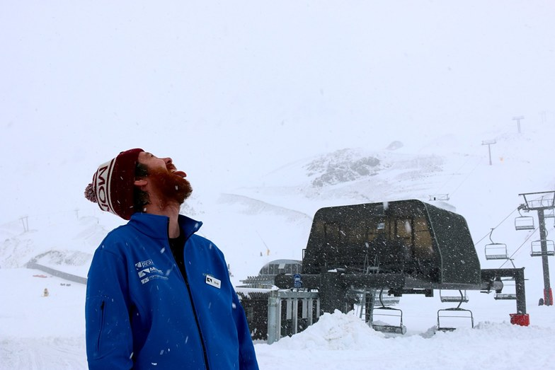 You can almost taste the new season!, Mt Hutt