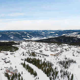 Mosetertoppen in Hafjell