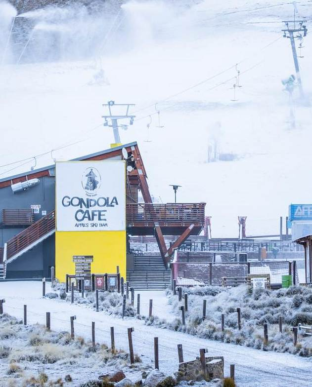 Season starts tomorrow., Afriski Mountain Resort