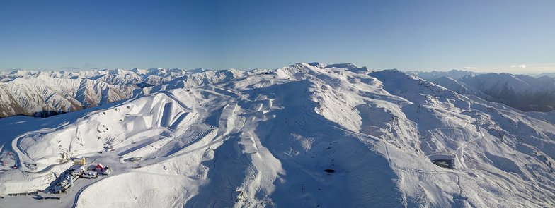 Season starts tomorrow., Cardrona