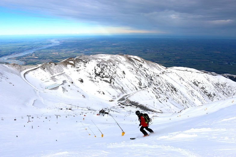 Day one of the season., Mount Hutt