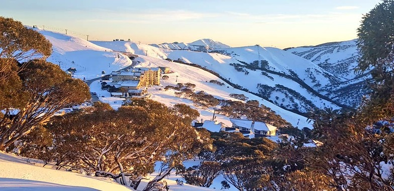 4th Australian ski area to open early for the season., Mount Hotham