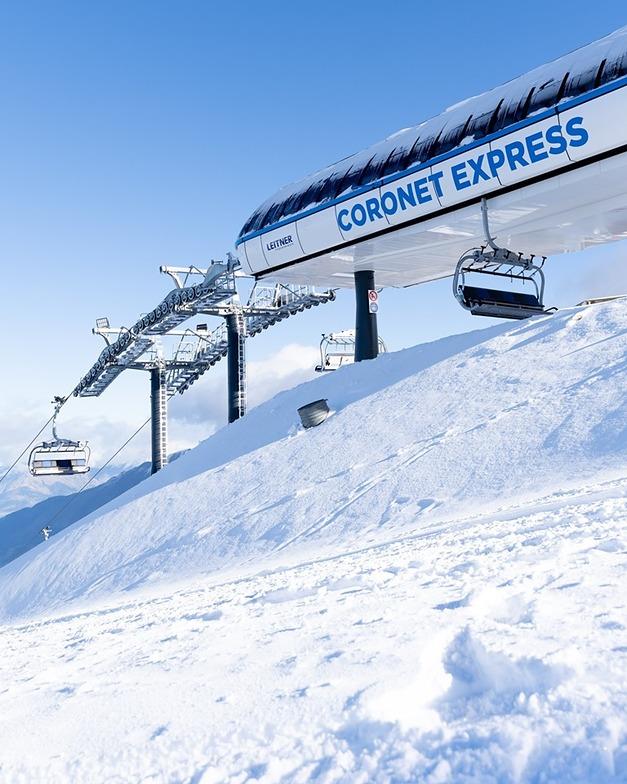 Season is underway....., Coronet Peak