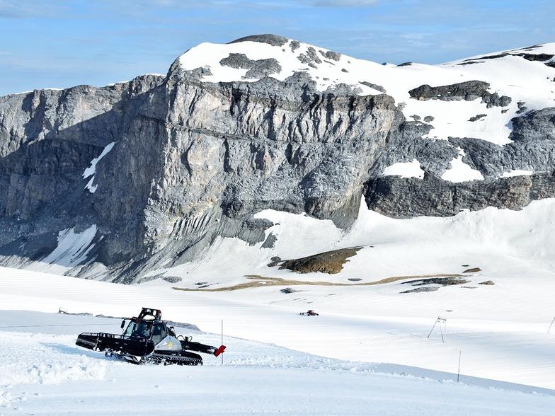 Summer glacier skiing, in France, starts today., Tignes