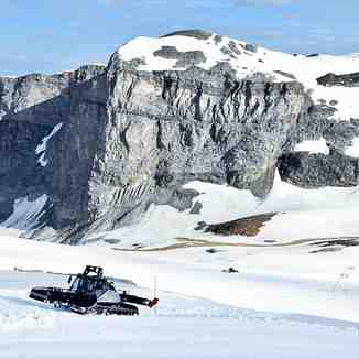 Summer glacier skiing, in France, starts today., Tignes