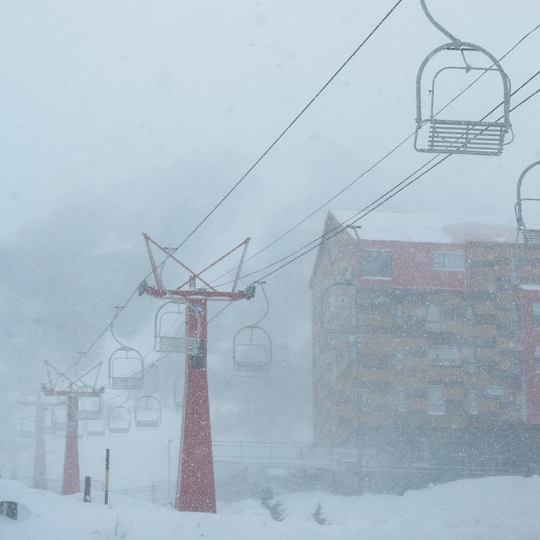 Start of the 2019 season., Nevados de Chillan