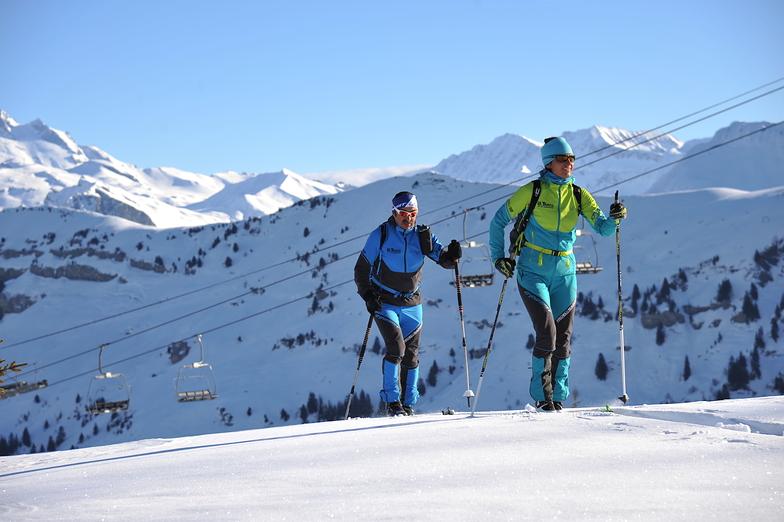 Ski-tourers, Arêches-Beaufort