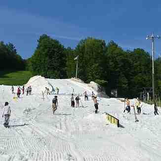 Open for summer camp., Mont Saint Sauveur