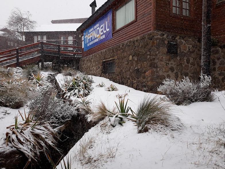 Fresh snowfall., Tiffindell