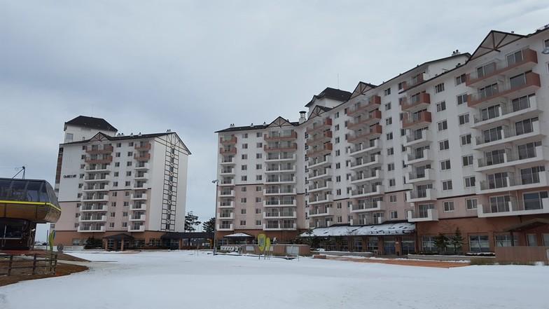 O2 Ski Resort snow