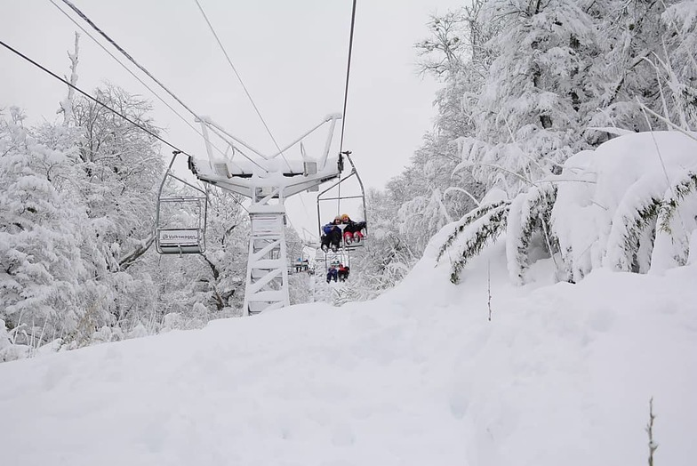 Big snowfalls in Argentina, Cerro Bayo
