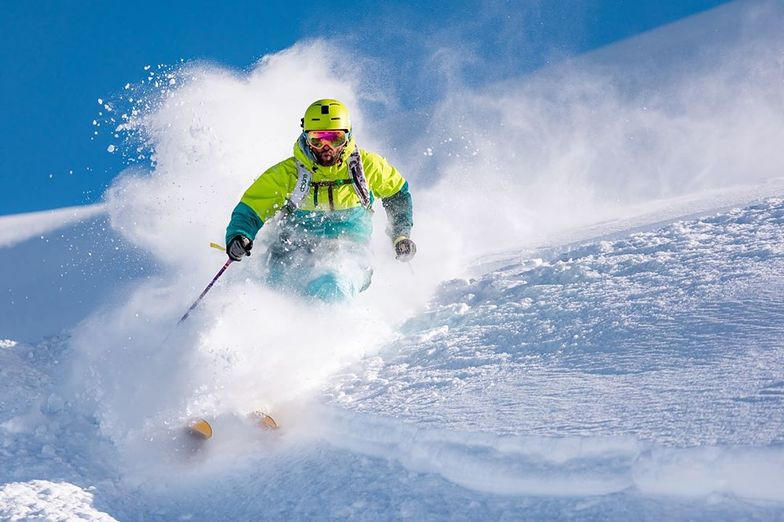 Powder Day on Valle Nevado