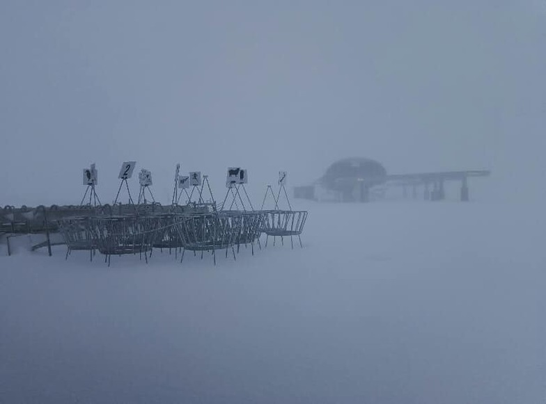 Most areas reporting 25-35 cm on the last day of July., Mt Hutt