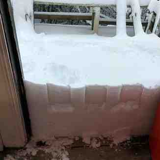 Snow totals now up to 55cm (22 inches)., Broken River