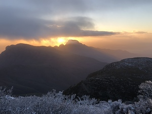 Sunrise, Bluff Knoll (Stirling Ranges) photo