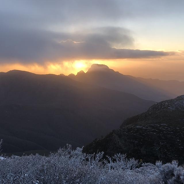 Sunrise, Bluff Knoll (Stirling Ranges)