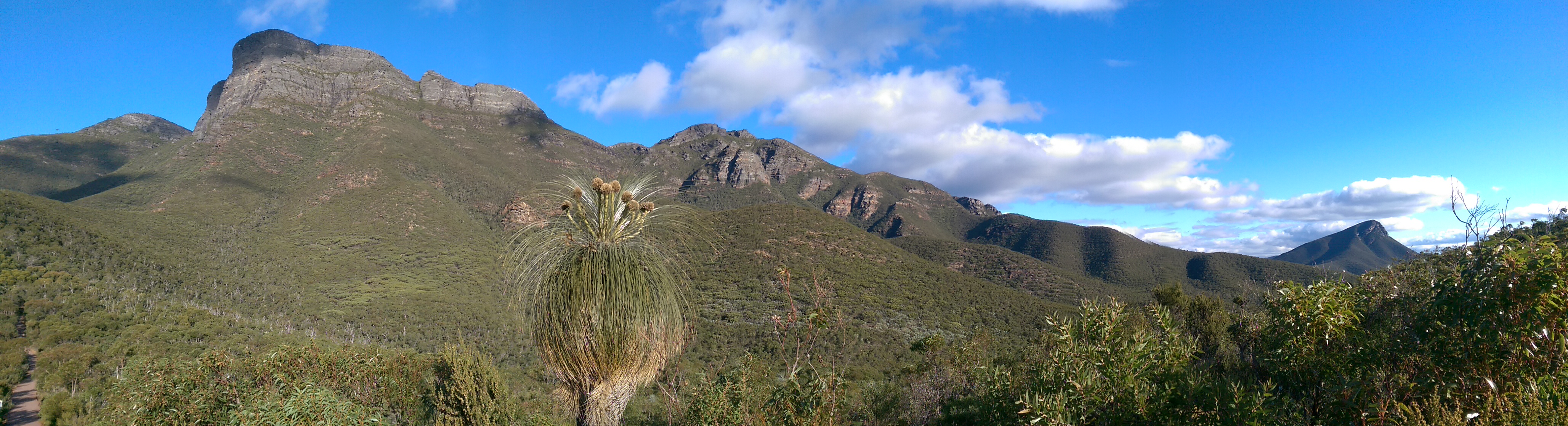 Bluff Knoll Panorama, Bluff Knoll (Stirling Ranges)